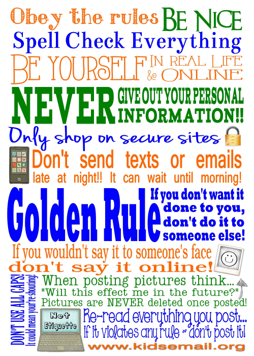 photo relating to Free Printable Internet Safety Worksheets identified as no cost Children E-mail Web site