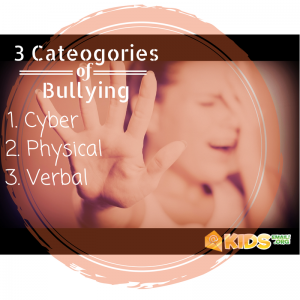 3 categories bullying