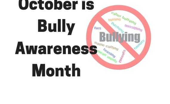 October isBully AwarenessMonth
