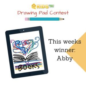 This weeks winner-Abby