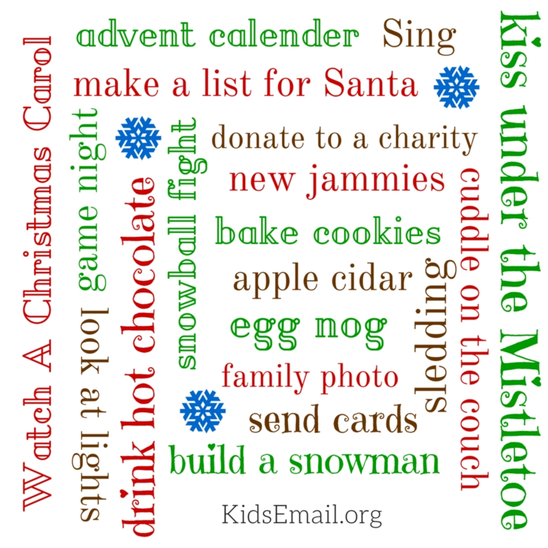 holiday bucket list (1)